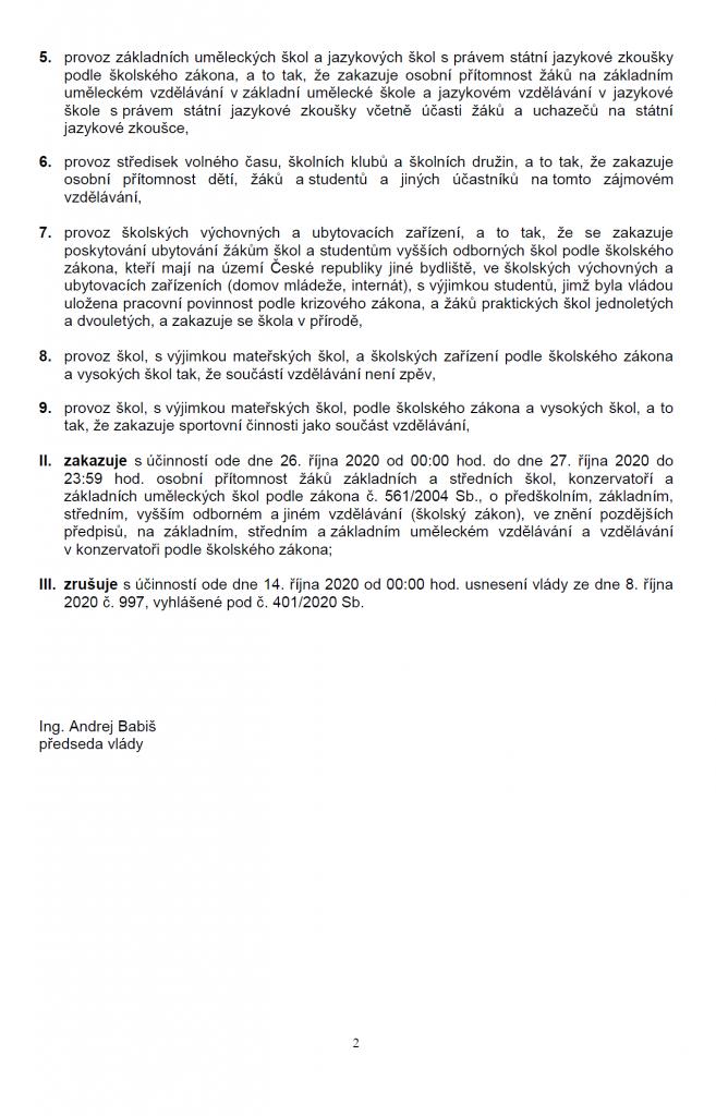 Nařízení vlády č. 1022/2